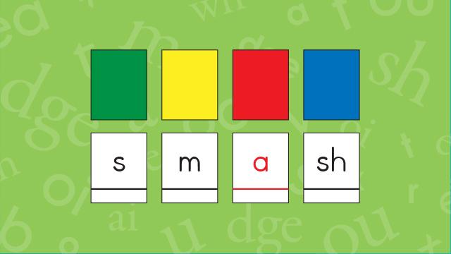 smash letter tiles