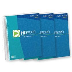 HD Word Teacher Lesson Plans