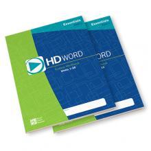 HD Word Student Workbook Set - Essentials Level - Grades 6-8